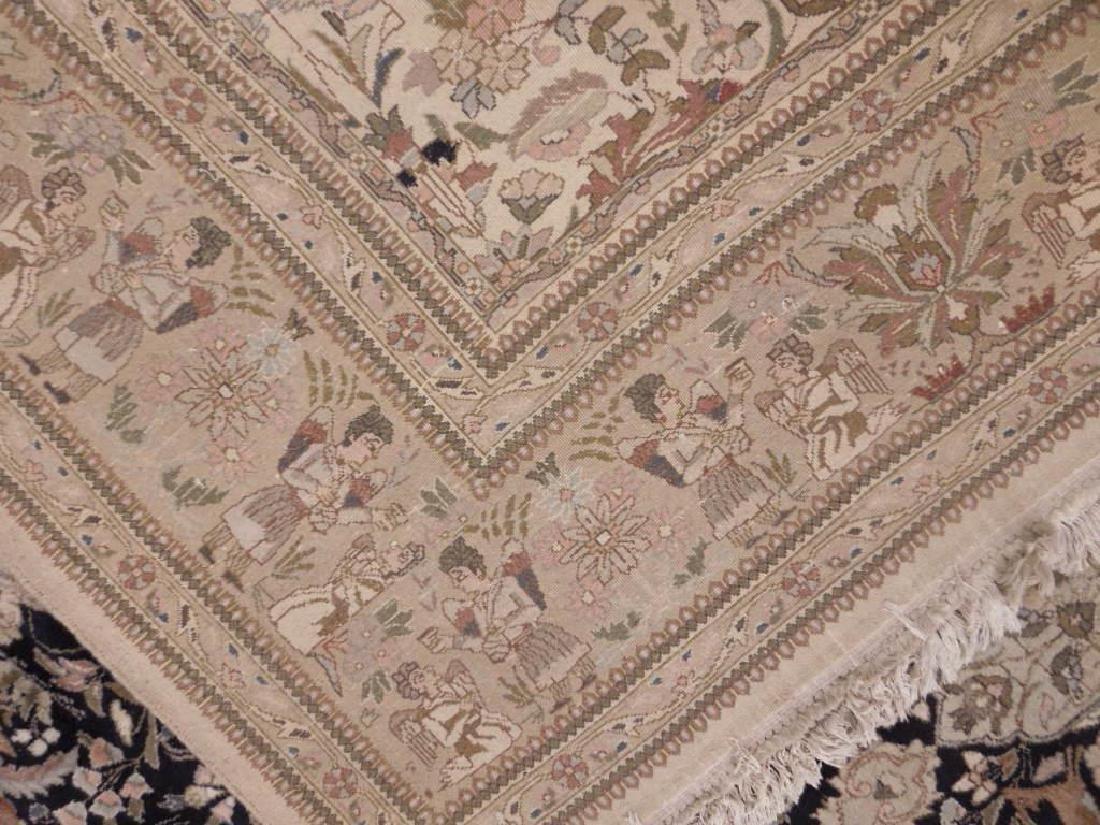 Persian Figural Carpet - 5