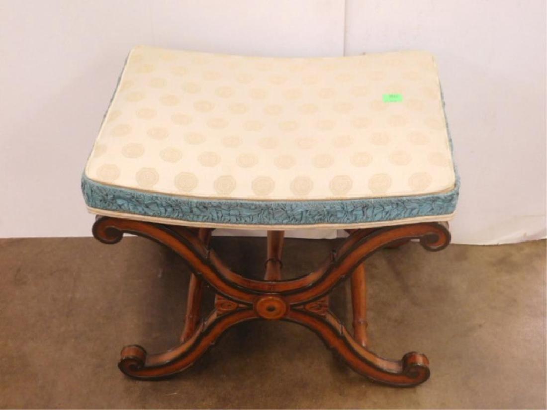 Regency Style Vanity Bench