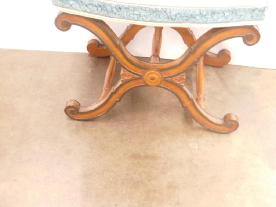 Regency Style Vanity Bench - 2