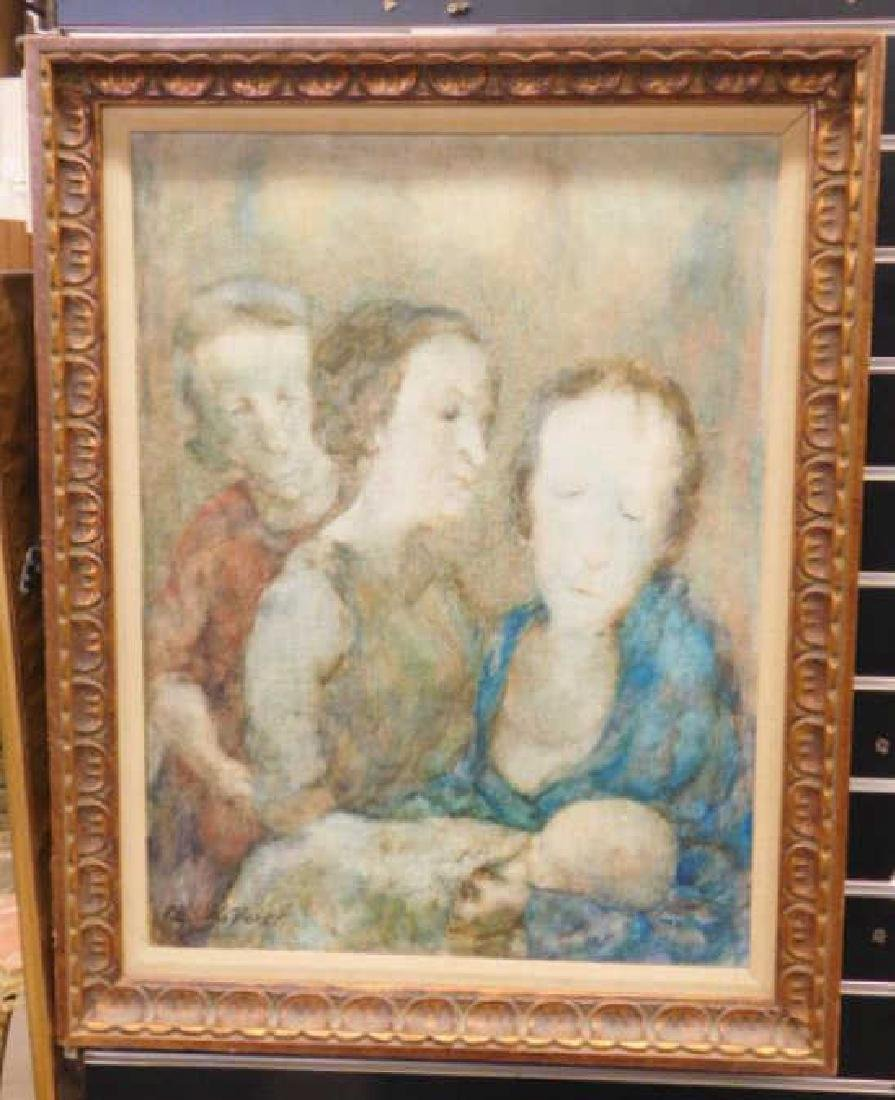 "Rita W. Barnett, o/c, ""The Aunts"""