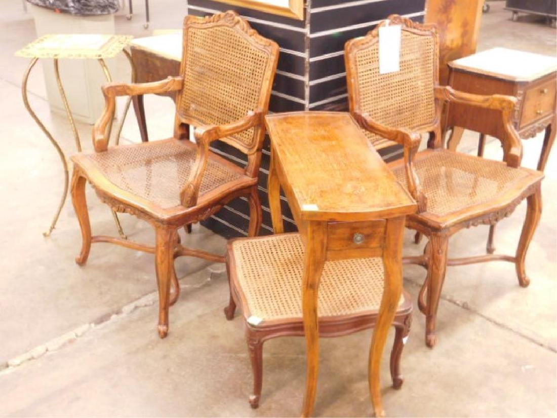 4 Pc French Provincial Furniture