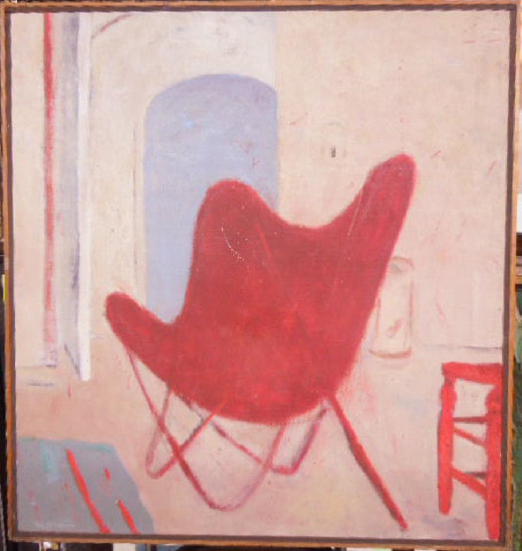Toshiharv Kitagawa Signed Oil Painting