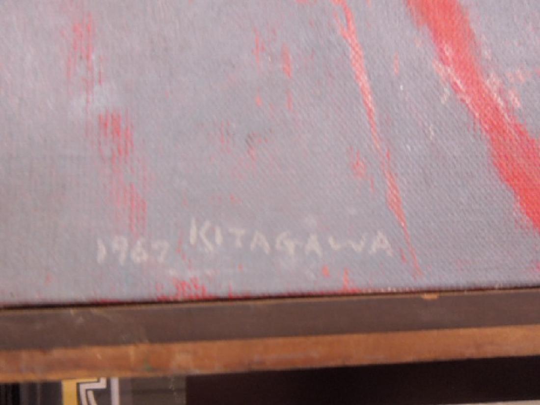 Toshiharv Kitagawa Signed Oil Painting - 2
