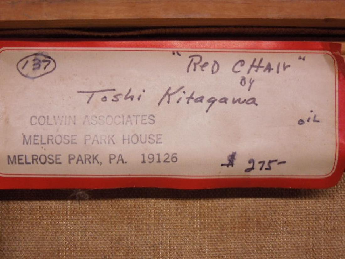 Toshiharv Kitagawa Signed Oil Painting - 5