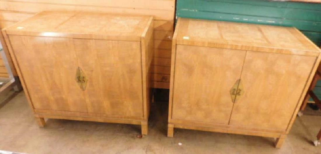 Pr Directoire Style Console Cabinets
