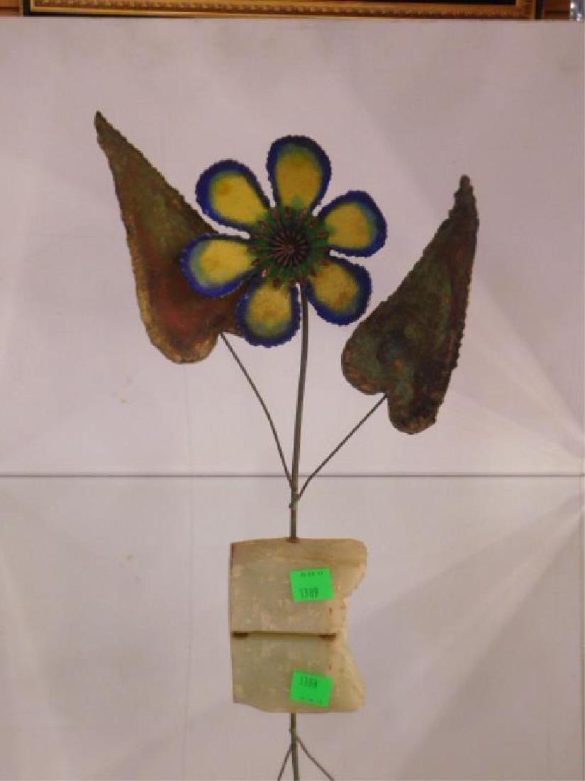 Curtis Jere Flora Form Sculpture