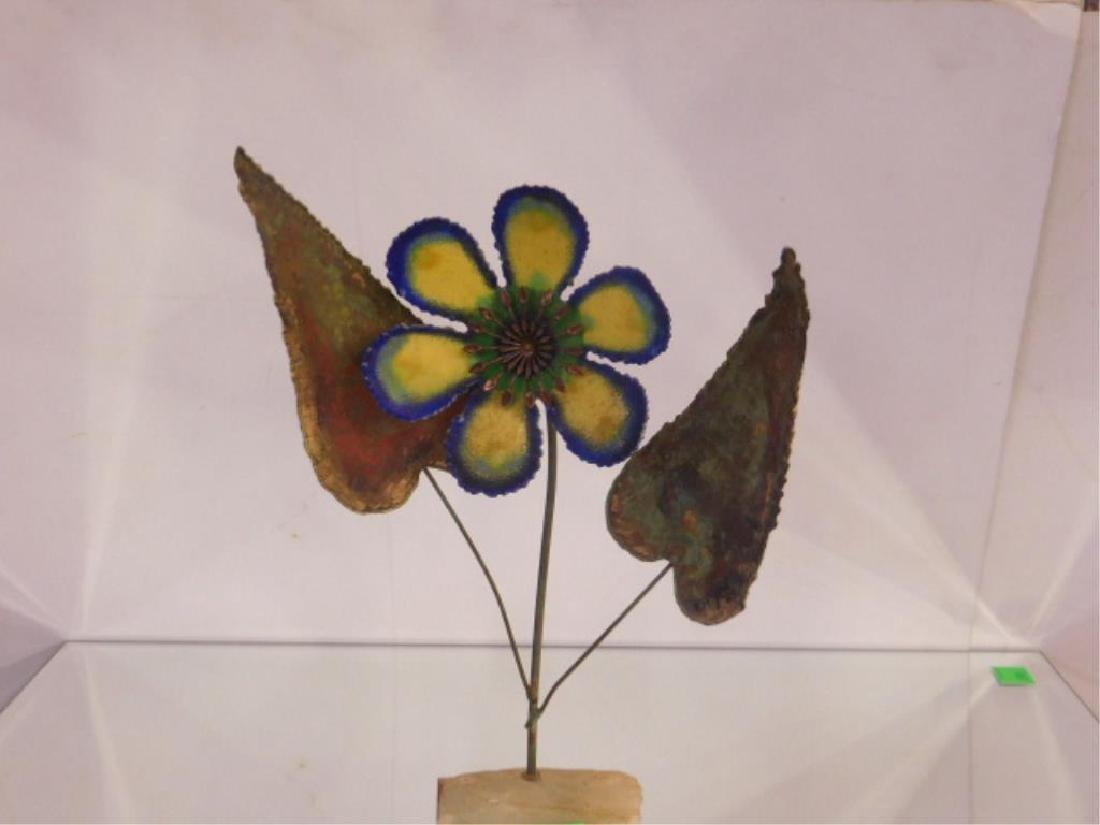 Curtis Jere Flora Form Sculpture - 2