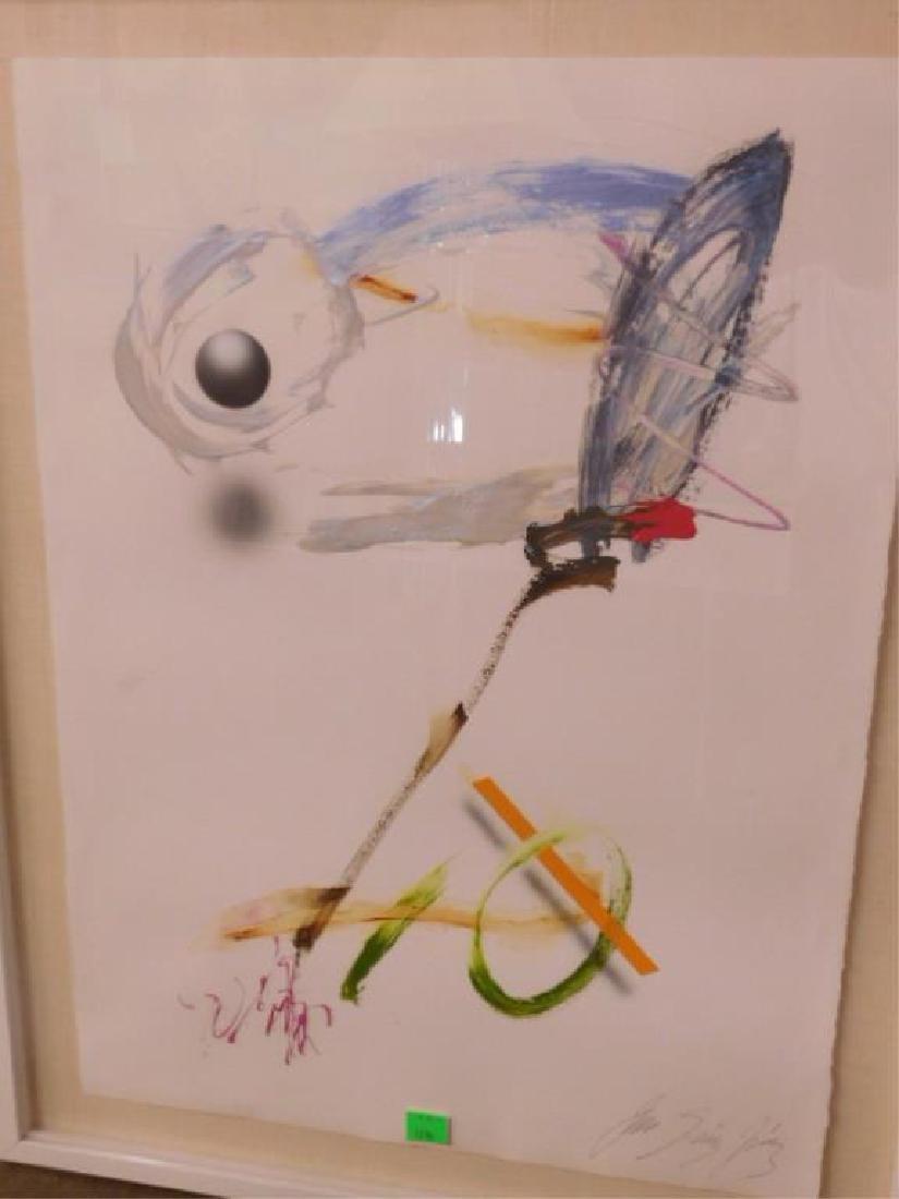 Sanchez Oil on Paper - 2