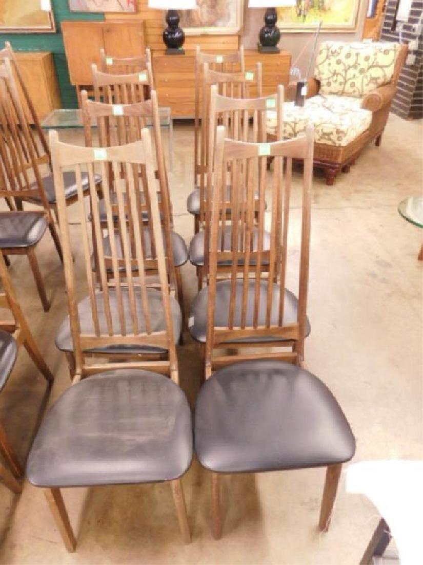 8 Danish Modern Style Side Chairs