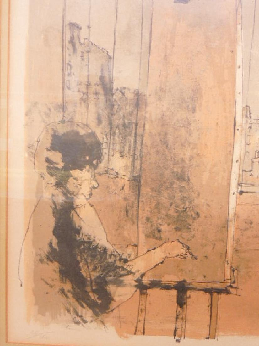 Jean Jansem Signed Lithograph - 6