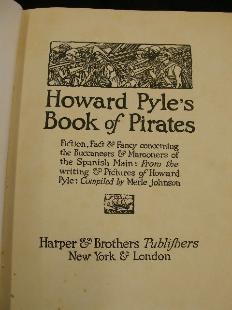4003: Pyle. Book of Pirates. NY 1921