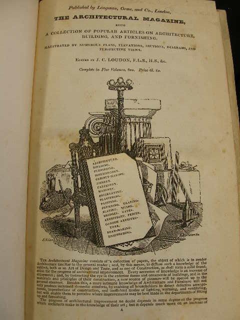 4006: Loudon, J.C. Encyclopedia of Cottage, Farm and Vi