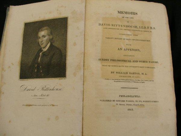 4007: Barton. Memoirs of David Rittenhouse….