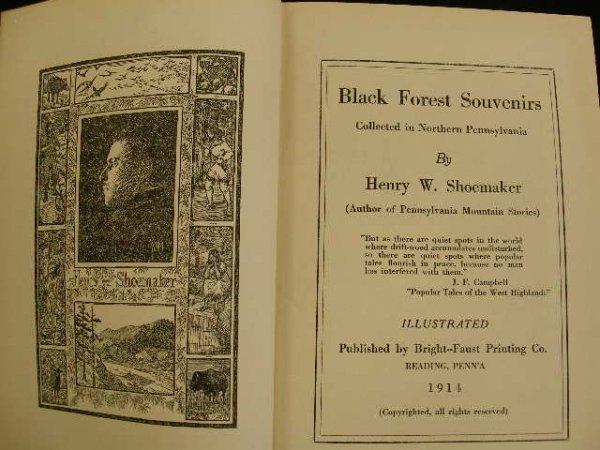 4015: Shoemaker. Black Forest Souvenirs