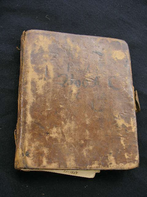 4066: 18th C. American manuscript surveyor's journal.