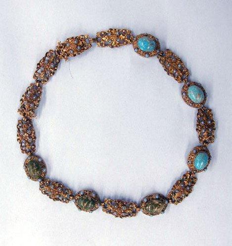 5278: 830 +925 silver necklace