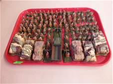 WW II Russian Army Metal Miniatures