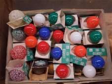 Lot Vintage Christmas Bulbs