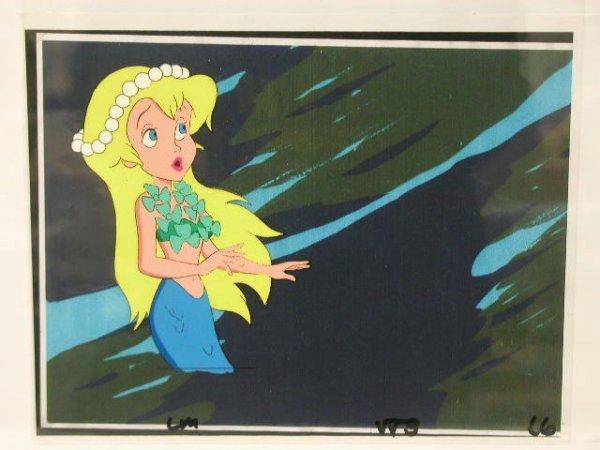 1003: My Little Mermaid Animation Cel