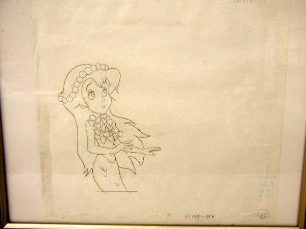 1004: My Little Mermaid Pencil Drawing
