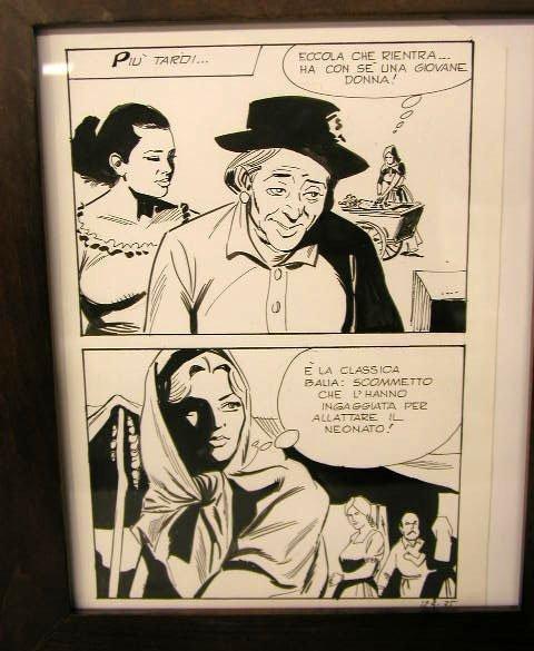 1006: Italian Comic Book Illustration Art