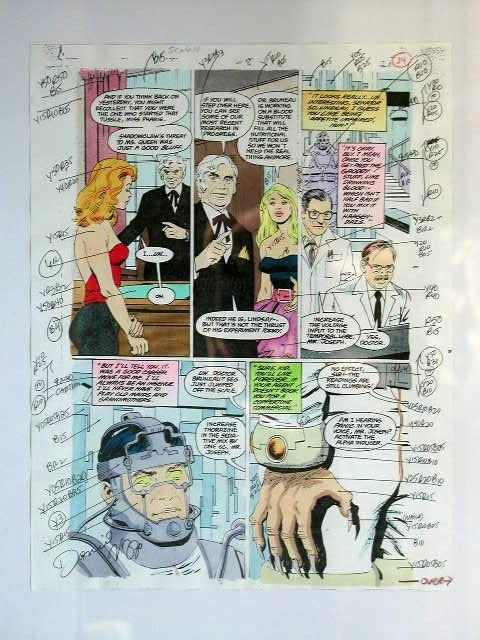1008: Comic Book Illustration Art