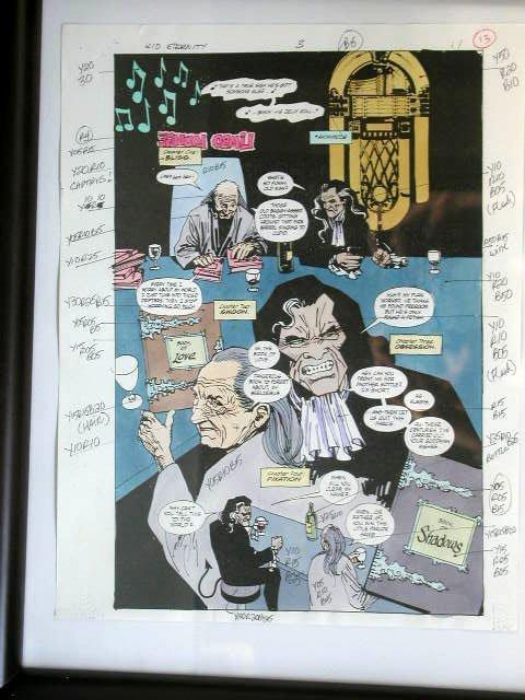 1009: Kid Eternity Comic Illustration Art