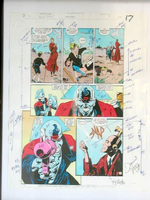 1010: Doom Patrol Comic Book Illustration Art