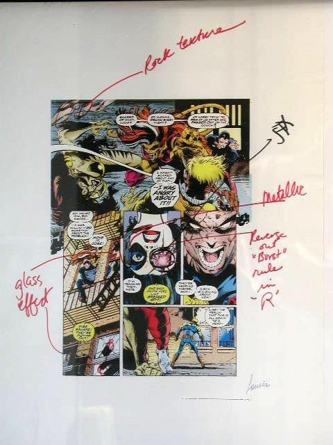 1012: Comic Book Illustration Art