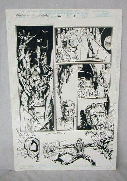 1013: Amazing Spiderman Comic Illustration Art
