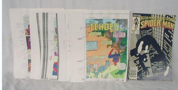 1017: Spectacular Spiderman Comic Book Art