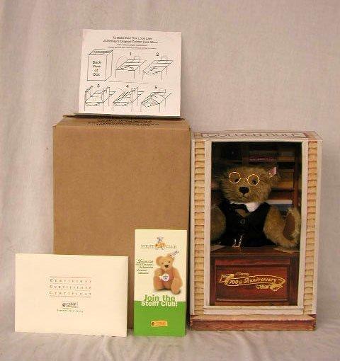 "1023: Steiff 12 1/2"" J.C. Penney Anniversary Bear"
