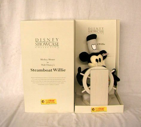 1024: Steiff Mickey Mouse Steamboat Willie