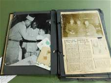 WWII Ali  Other US Army Boxers Scrapbook