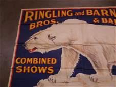 Rare Ringling Bros Large Poster