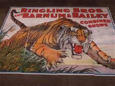 Rare Ringling Bros Jumbo Poster