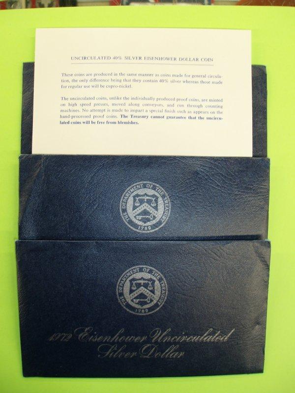 2003: 46 Eisenhower dollars