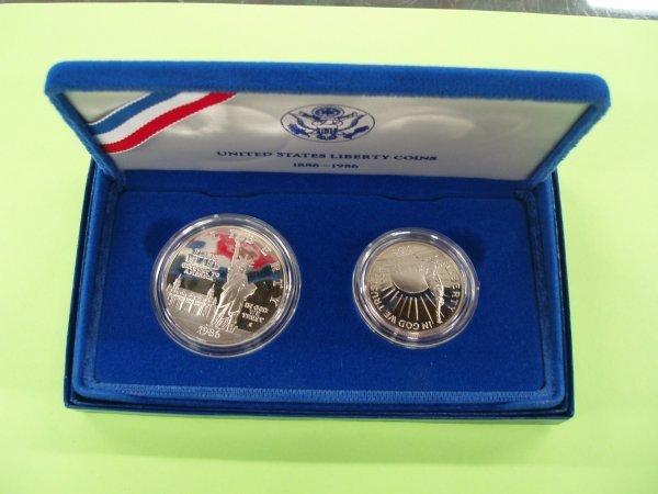 2010: Ellis Island proof coin set