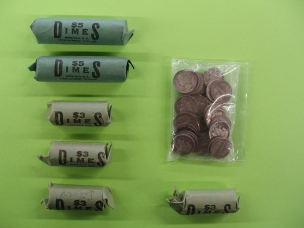 2016: 252 U.S. silver dimes