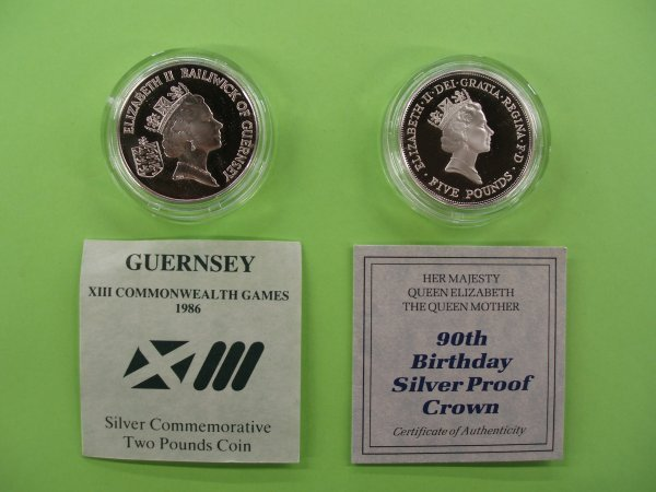 2024: 2 British silver commemorative coins