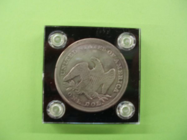 2045: 1846 Seated Liberty silver dollar - 2