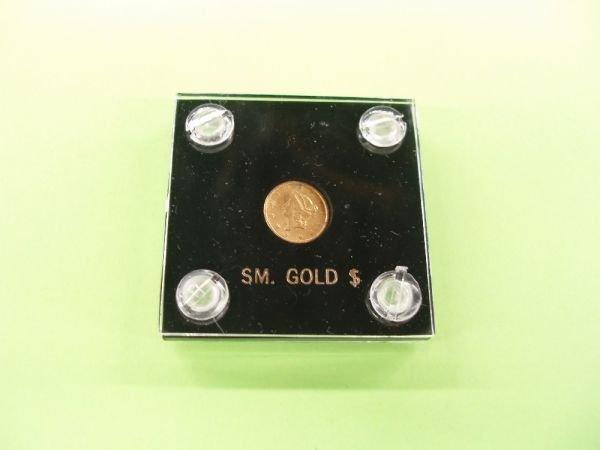 2054: 1853 U.S. $1 gold