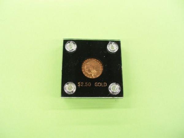 2056: 1927 U.S. $2 1/2 gold Indian
