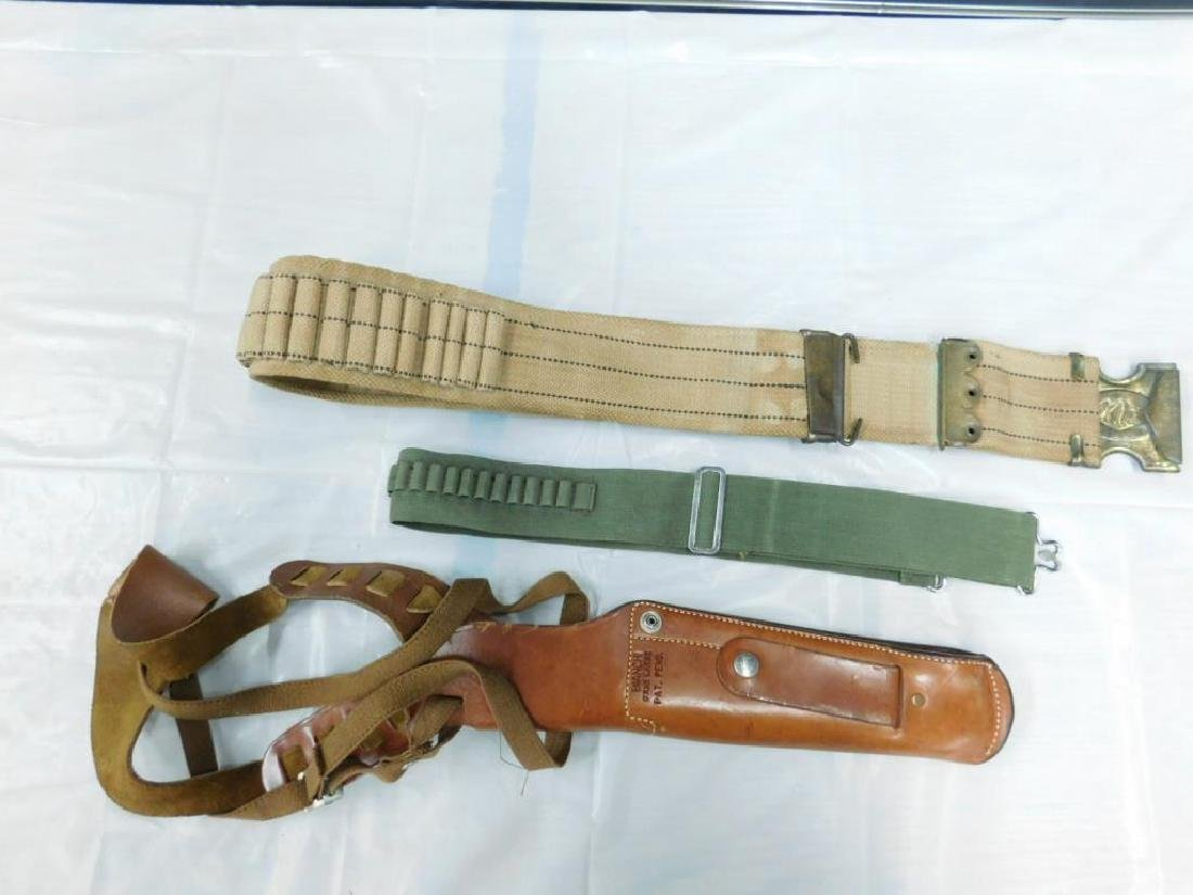Holster & Ammo Belts - 9