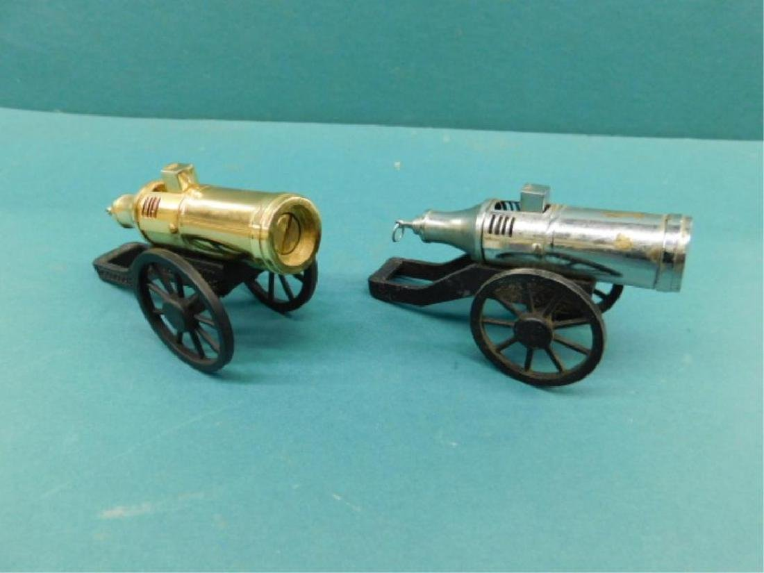 (2) Cannon Form Cigarette Lighters
