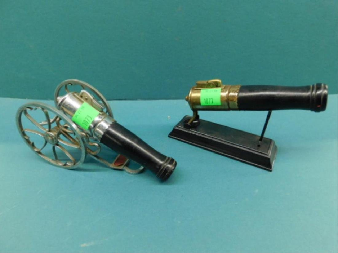 2 Cannon Form Cigarette Lighters