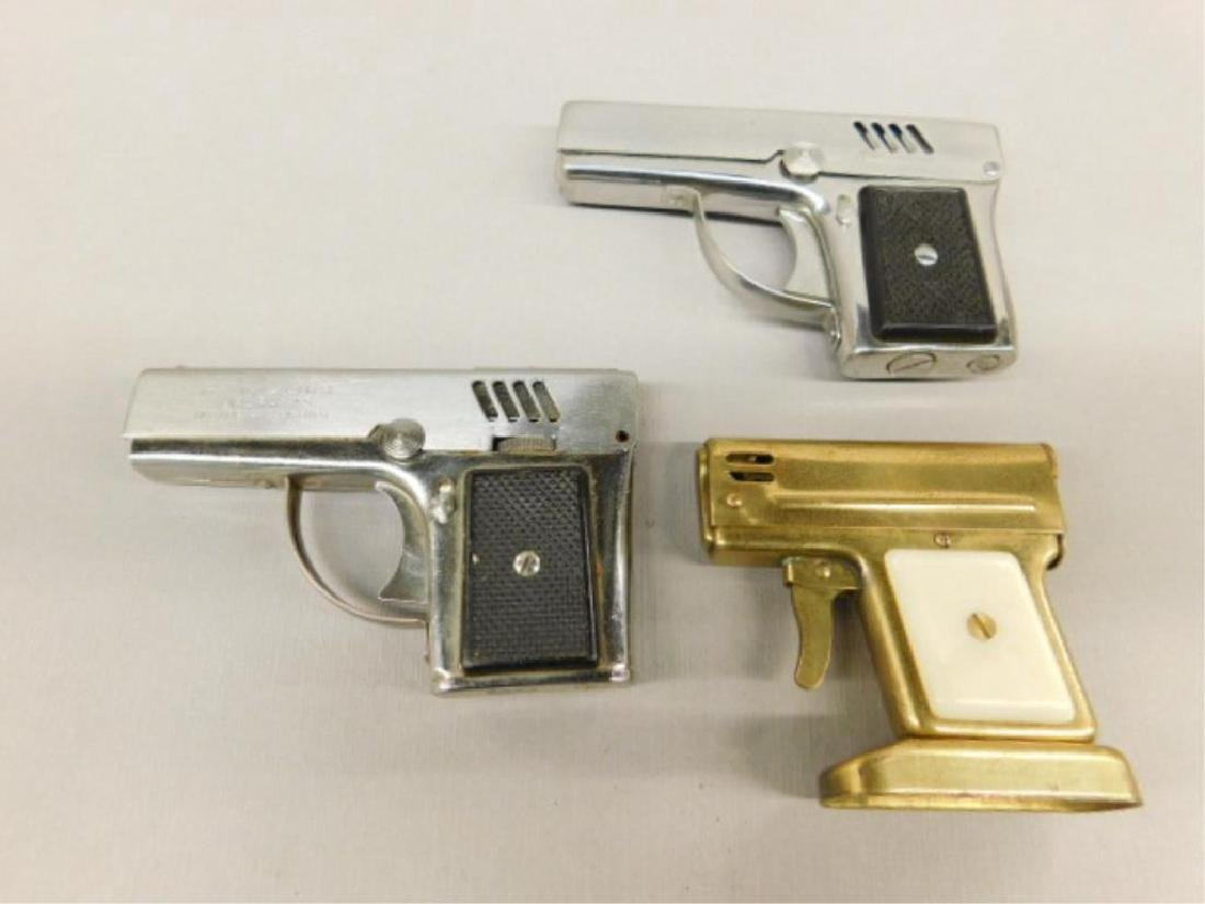 3 Gun Form Cigarette Lighters