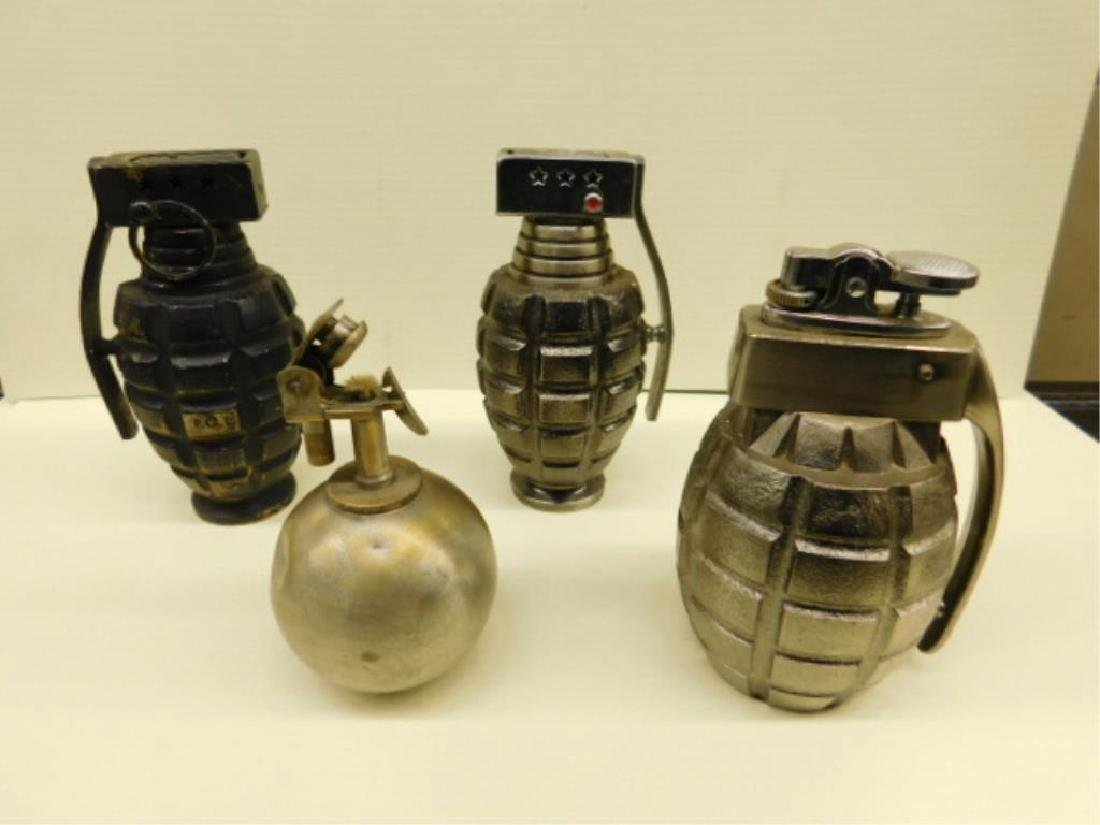 4 Grenade Cigarette Lighters