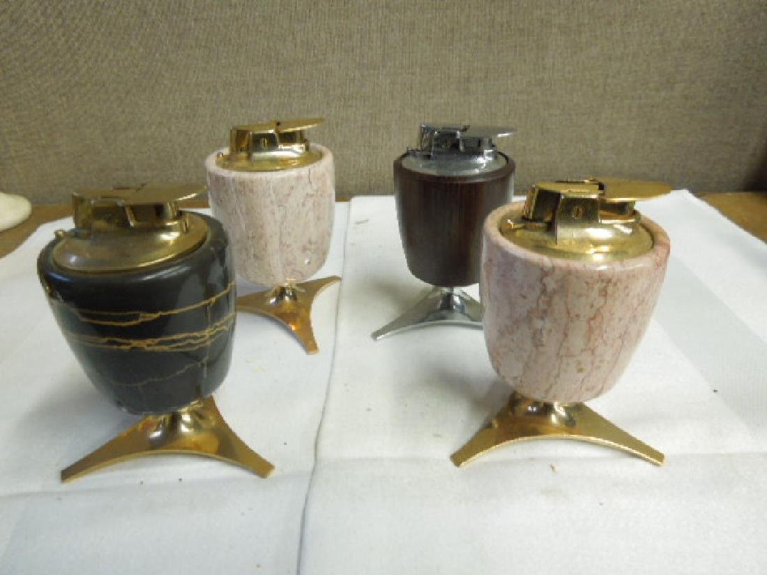 4 Ronson Mid-Century Table Lighters