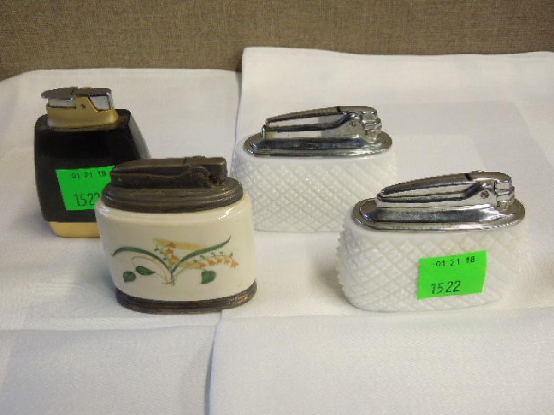 4 Vintage Ronson Table Lighters